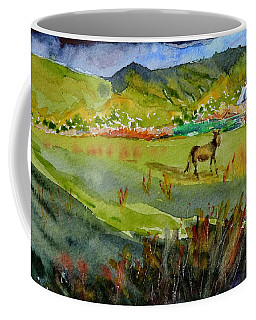 Long Shadow Storm Coffee Mug by Beverley Harper Tinsley