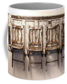 Long Wait By The Door Coffee Mug