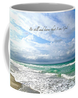 Coffee Mug featuring the photograph Be Still by Margie Amberge