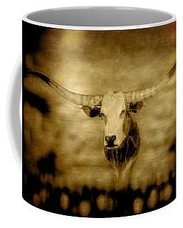 Longhorn Bull Coffee Mug