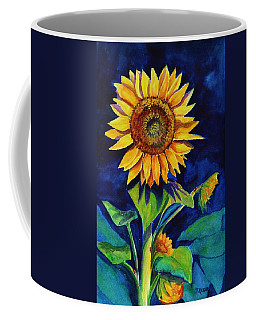 Midnight Sunflower Coffee Mug