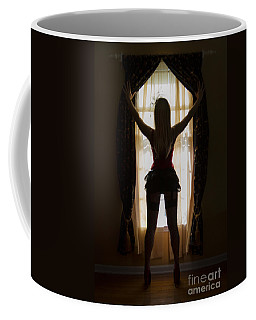 Look Through My Window Coffee Mug