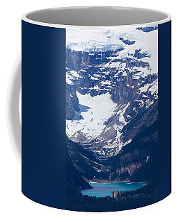 Looking Down At Lake Louise #2 Coffee Mug