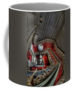 Looking Down On Beauty Coffee Mug by Nathan Wright