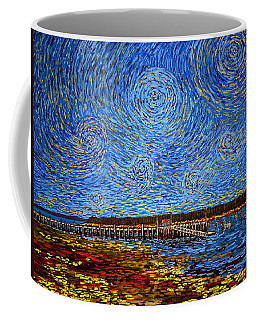 Looking East - St Andrews Wharf 2013 Coffee Mug