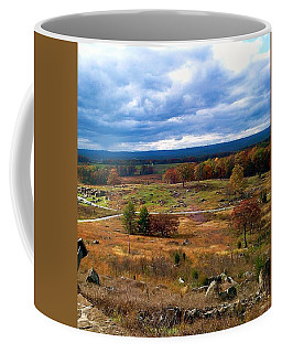 Looking Over The Gettysburg Battlefield Coffee Mug