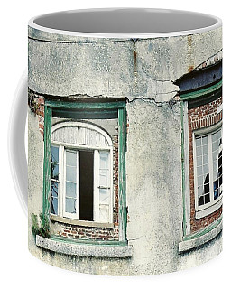 Coffee Mug featuring the photograph New Orleans Looking Thru And Beyond by Michael Hoard
