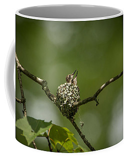 Looking Up Coffee Mug