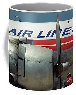 Lookit It's A Radial Coffee Mug