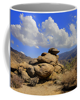 Coffee Mug featuring the photograph Lookout Rock by Michael Pickett