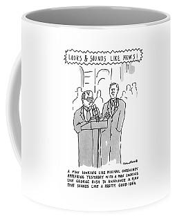Looks & Sounds Like News! Coffee Mug