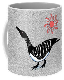 Loon And Sun Coffee Mug