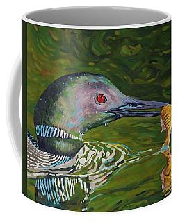 Loon Lunch Coffee Mug