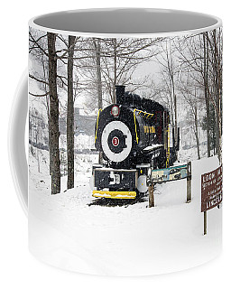 Loon Mountain Train Coffee Mug