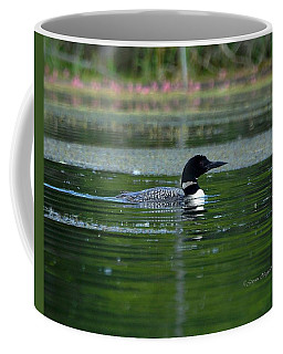 Loon On Indian Lake Coffee Mug by Steven Clipperton