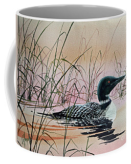 Loon Sunset Coffee Mug