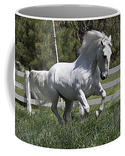 Coffee Mug featuring the photograph Loose In The Paddock 5594 by Wes and Dotty Weber
