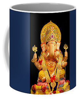Lord Ganesha Coffee Mug by Kiran Joshi
