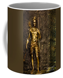 Lord Sri Ram Coffee Mug by Kiran Joshi