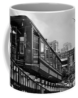 Los Angeles Angels Flight.bw Coffee Mug