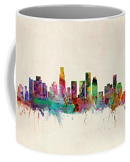 Los Angeles Skyline Coffee Mugs