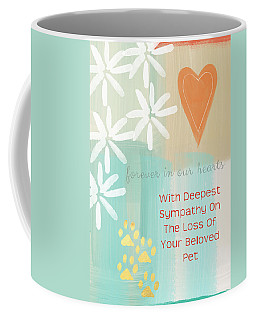 Loss Of Beloved Pet Card Coffee Mug