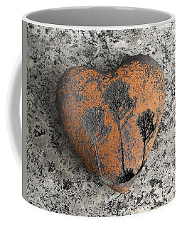 Coffee Mug featuring the photograph Lost Heart by Juergen Weiss