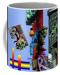 Lost In Comic Book Time Coffee Mug