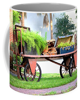 Coffee Mug featuring the photograph Lost Luggage by Gordon Elwell