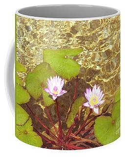 Coffee Mug featuring the photograph Lotus by Mini Arora