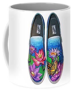 Lotus Shoes Coffee Mug