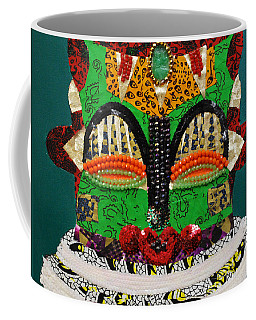 Lotus Warrior Coffee Mug by Apanaki Temitayo M