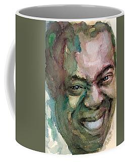Louis Armstrong Coffee Mug by Laur Iduc