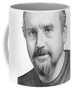 Louis Ck Portrait Coffee Mug
