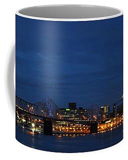 Coffee Mug featuring the photograph Louisville Skyline by Deborah Klubertanz