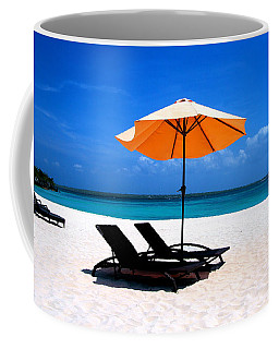 Coffee Mug featuring the photograph Lounging By The Sea by Joey Agbayani