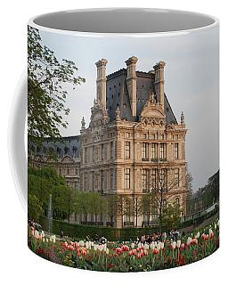 Coffee Mug featuring the photograph Louvre Museum by Jennifer Ancker
