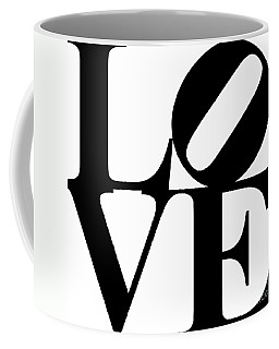 Love 20130707 Black White Coffee Mug
