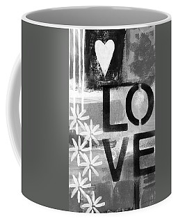 Love- Abstract Painting Coffee Mug
