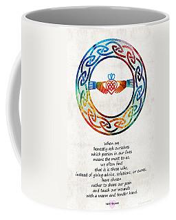 Love And Friendship Art By Sharon Cummings Coffee Mug