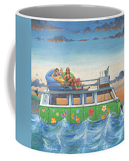 Love And Peace At Sea Coffee Mug