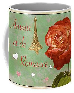 Love And Romance Coffee Mug by Claudia Ellis