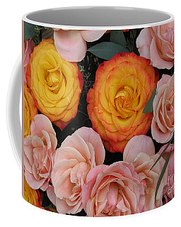 Love Bouquet Coffee Mug by HEVi FineArt