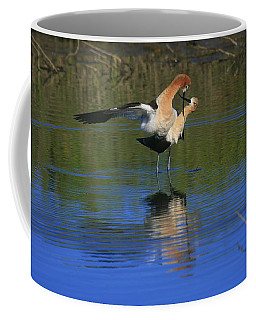 Coffee Mug featuring the photograph  Courtship Cross by John F Tsumas
