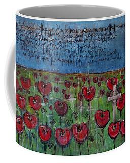 Love For Flanders Fields Poppies Coffee Mug