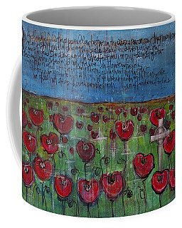Love For Flanders Fields Poppies Coffee Mug