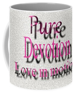 Coffee Mug featuring the digital art Love In Motion by Catherine Lott