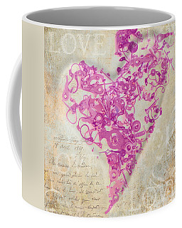 Love Is A Gift Coffee Mug by Fran Riley