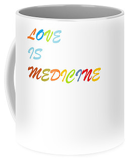 Coffee Mug featuring the digital art Love Is? by Aaron Martens