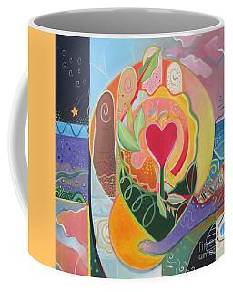 Love Is Love Coffee Mug by Helena Tiainen